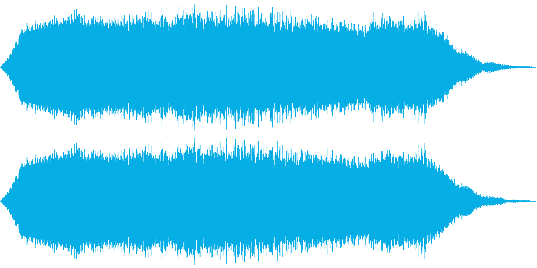 手から気弾発射の再生済みの波形