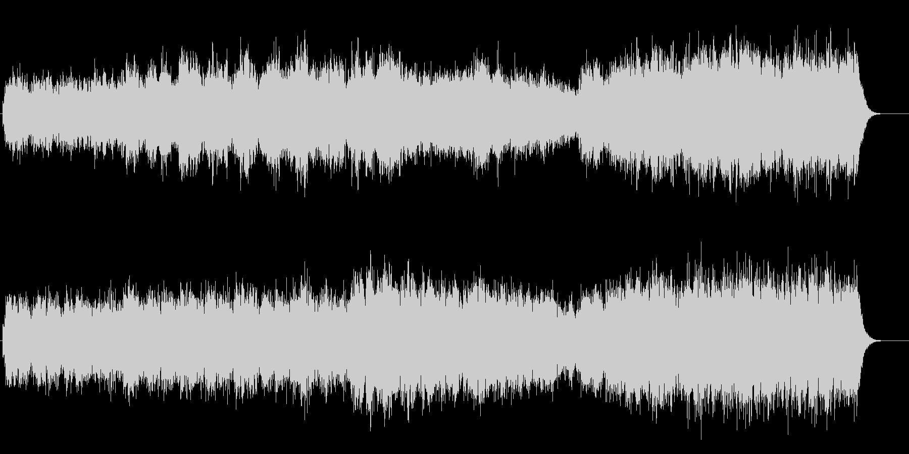 静かなヨーロッパ的ドキュメンタリーアンビの未再生の波形