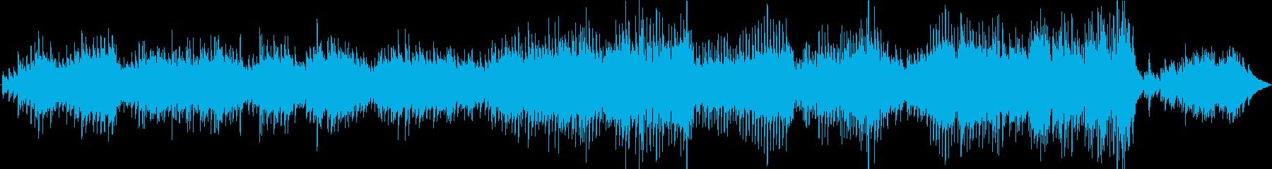 優しく寄り添うピアノ・ソロの再生済みの波形