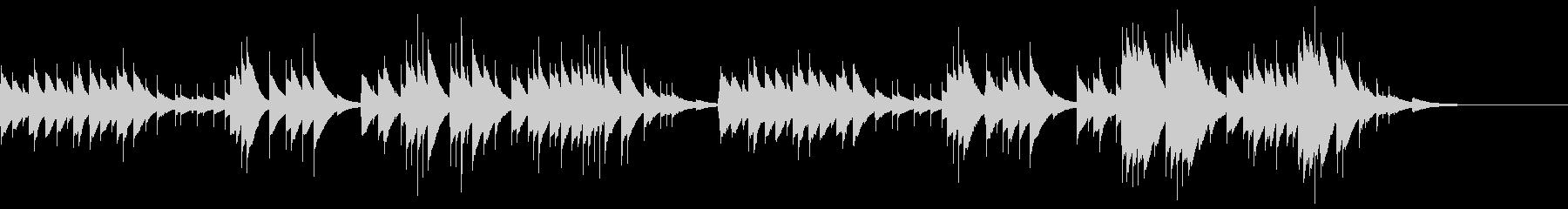 オルゴールソロによる穏やかな曲です。色…の未再生の波形