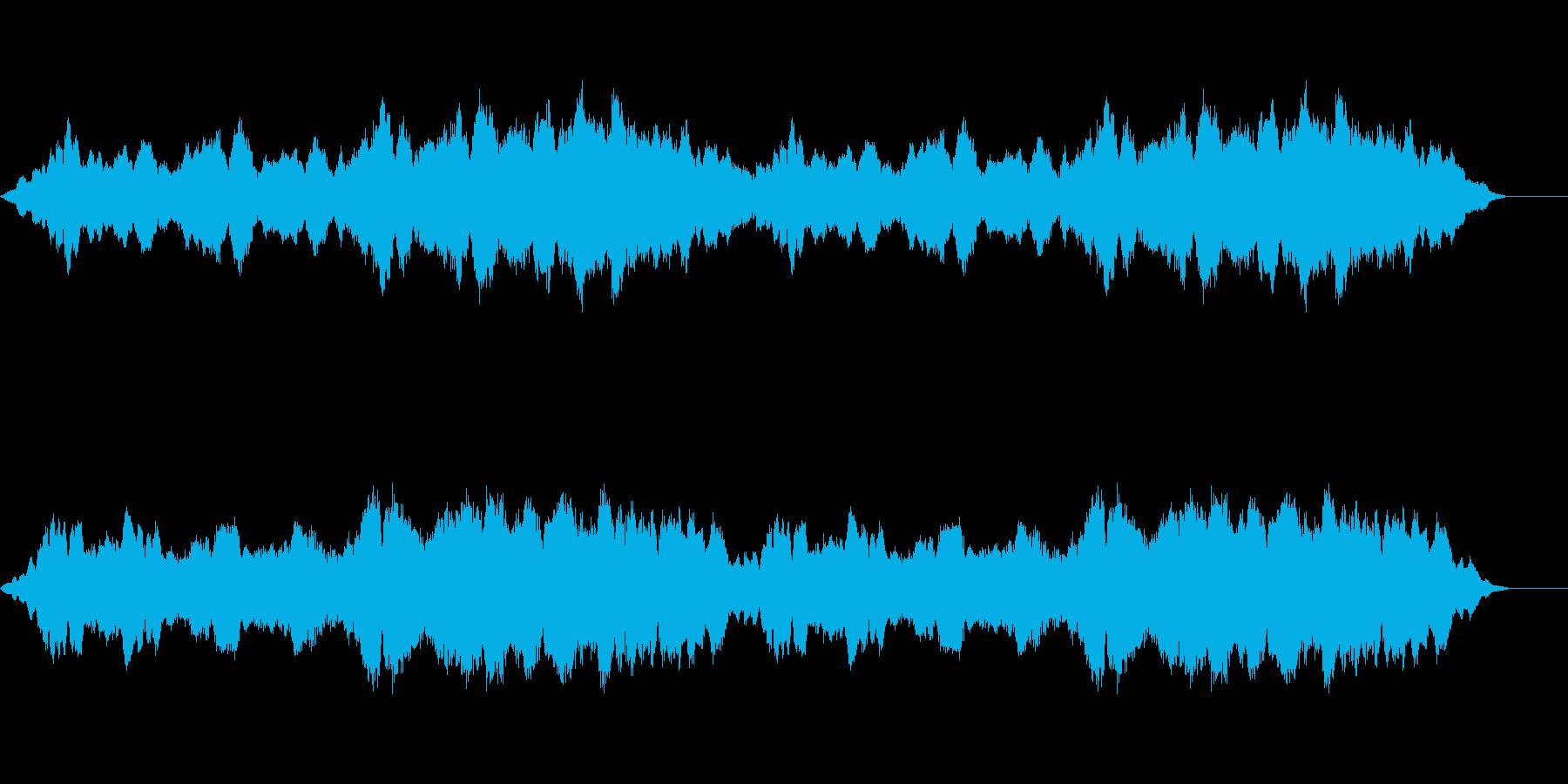 忍び寄る真夏のホラーアンビエントの再生済みの波形
