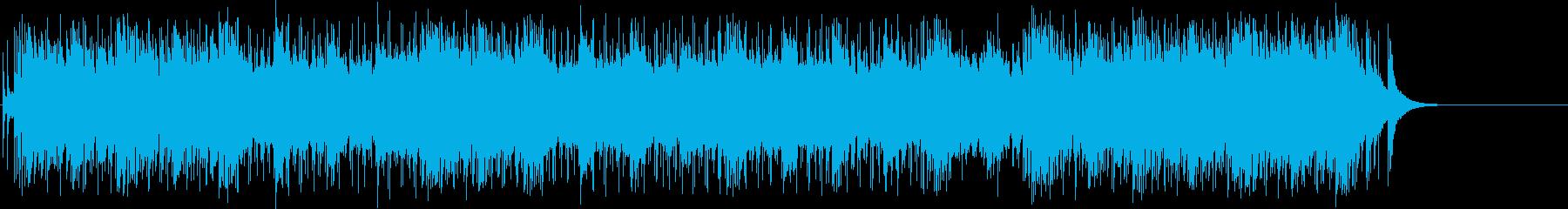 疾走感を感じる豪快なエレクトリックロックの再生済みの波形