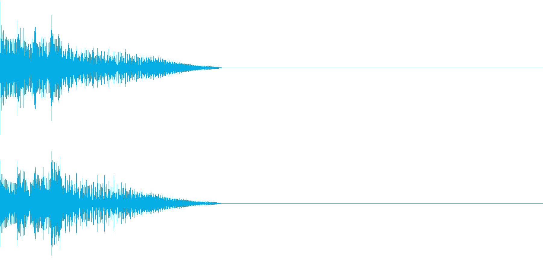 Cursor セレクト・カーソルの音14の再生済みの波形