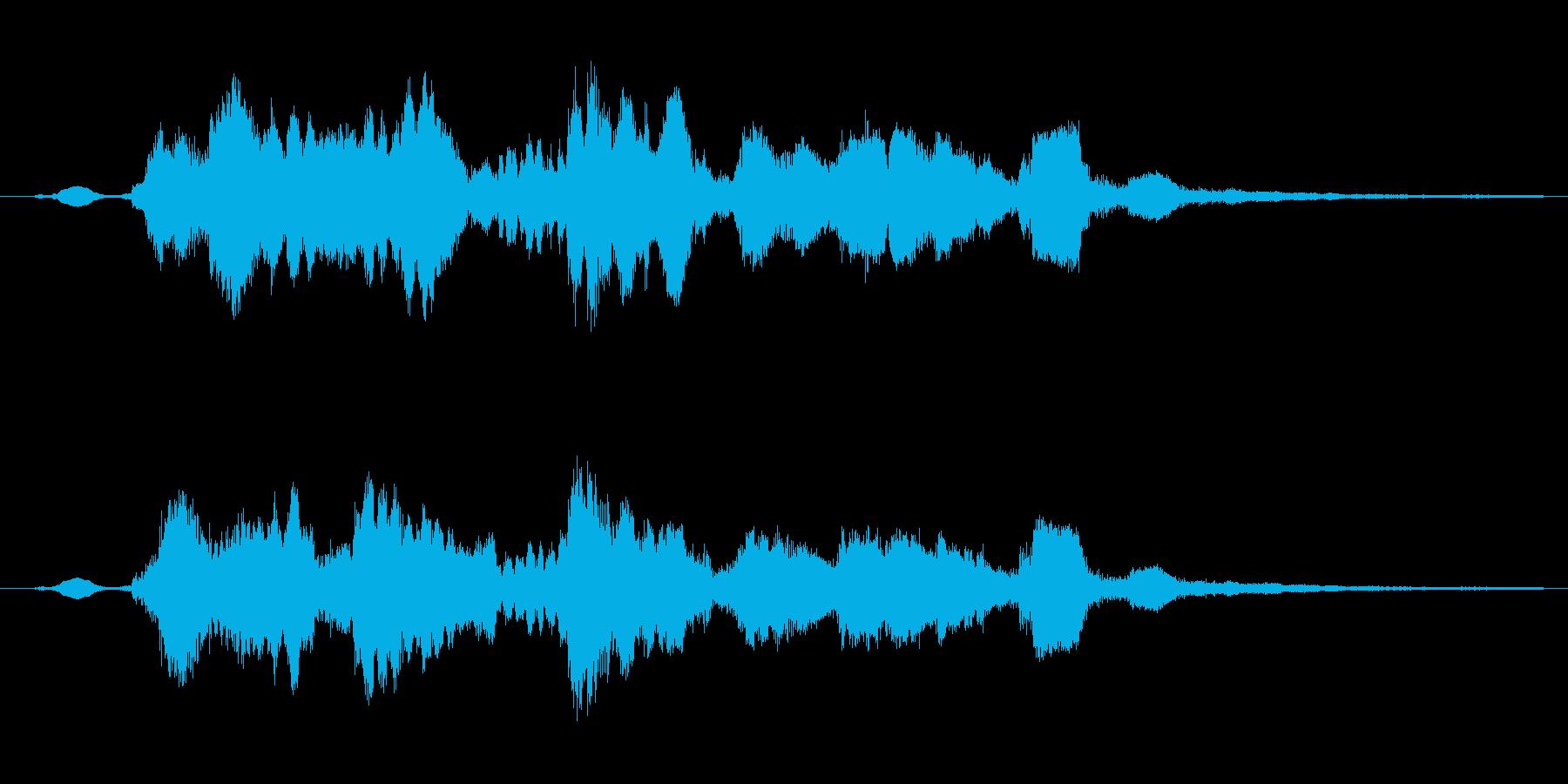 魔法反射の再生済みの波形