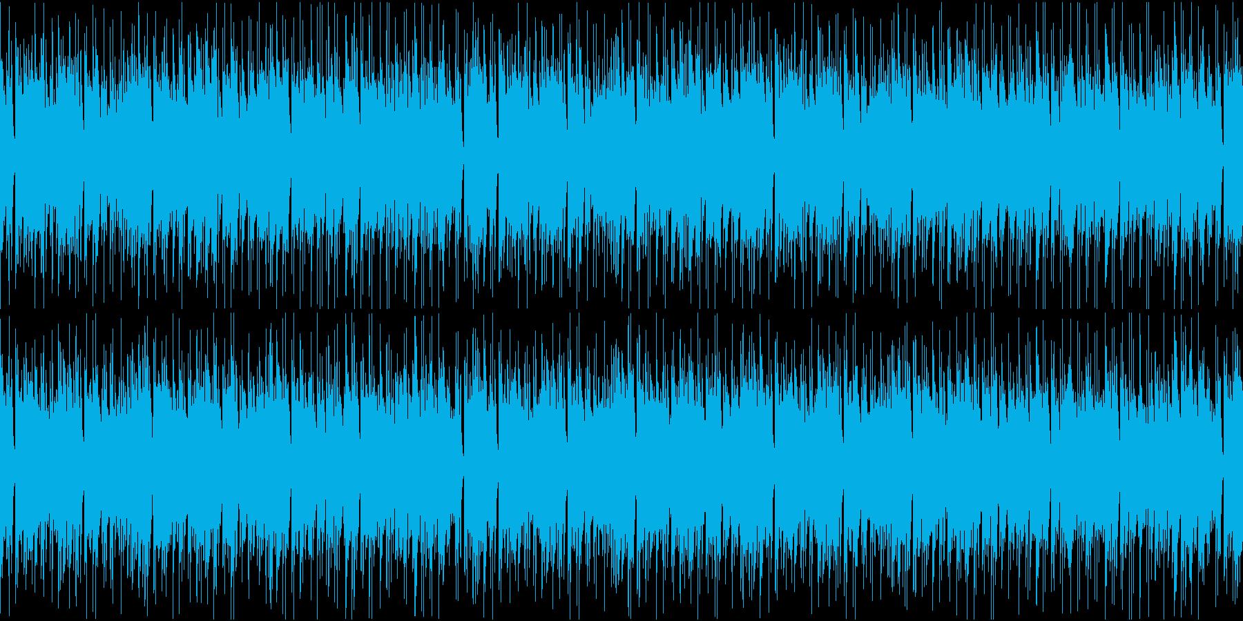 ピアノとアコギが爽やかなジャジーなループの再生済みの波形