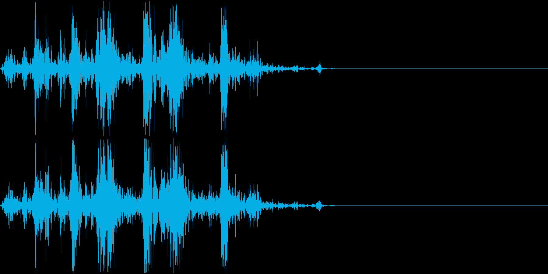 Camera シャッター ドライ音 1の再生済みの波形