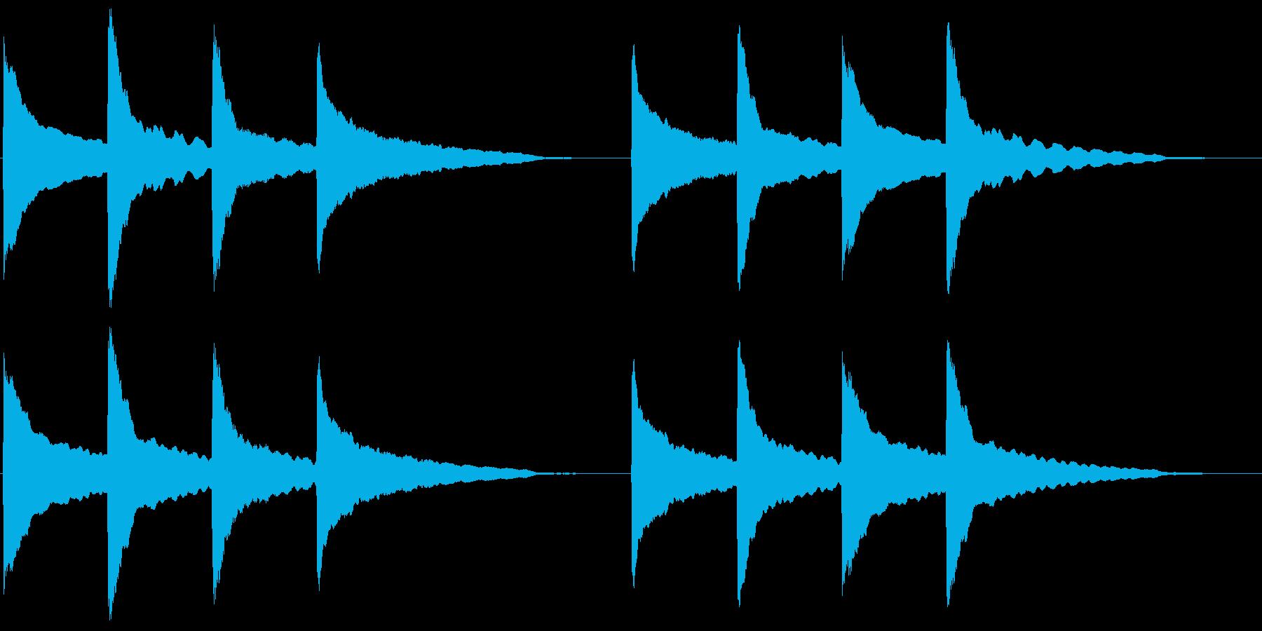 ピンポンパンポン (1)の再生済みの波形