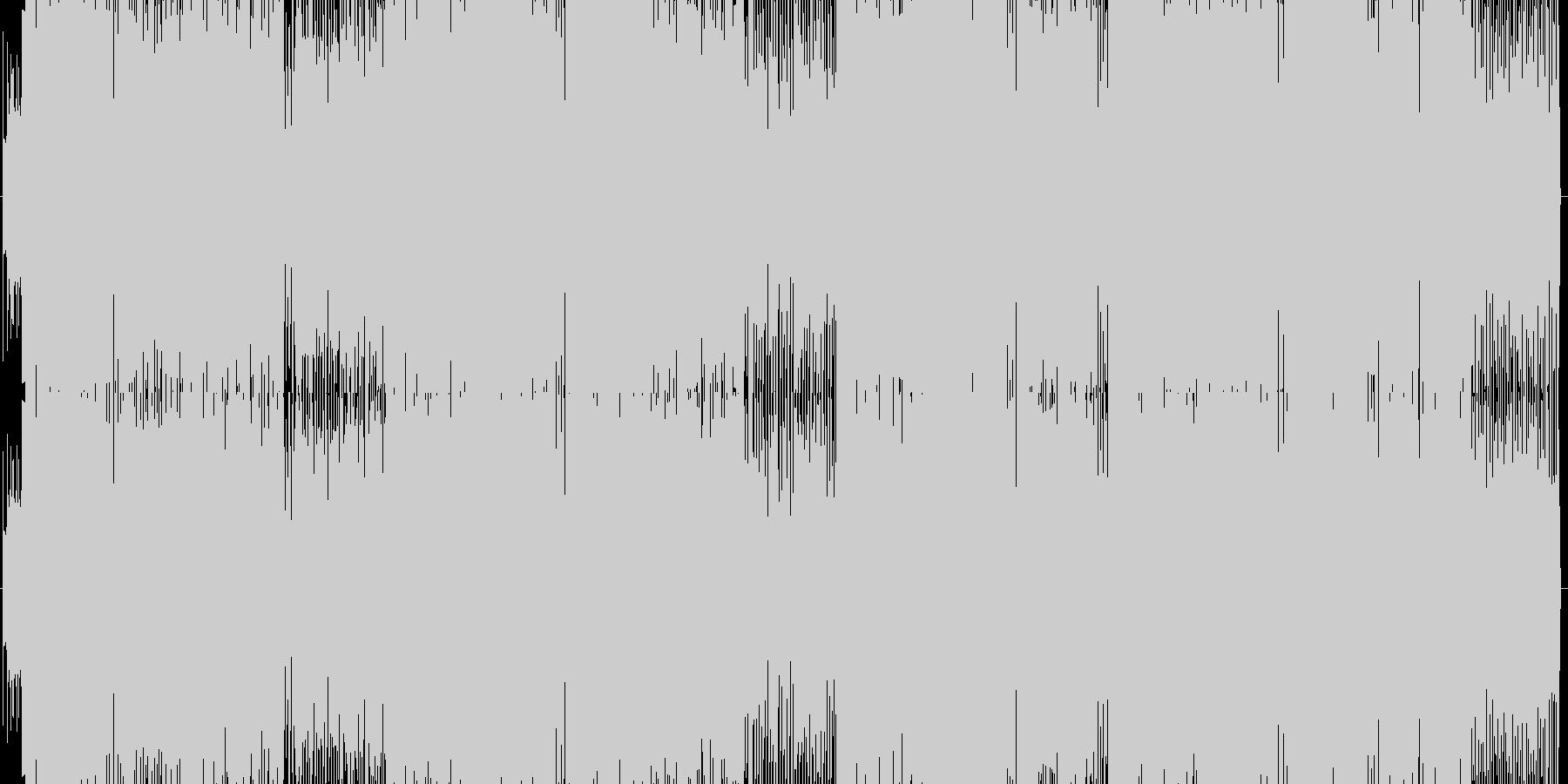 お洒落系イントロのエレクトロギターポップの未再生の波形