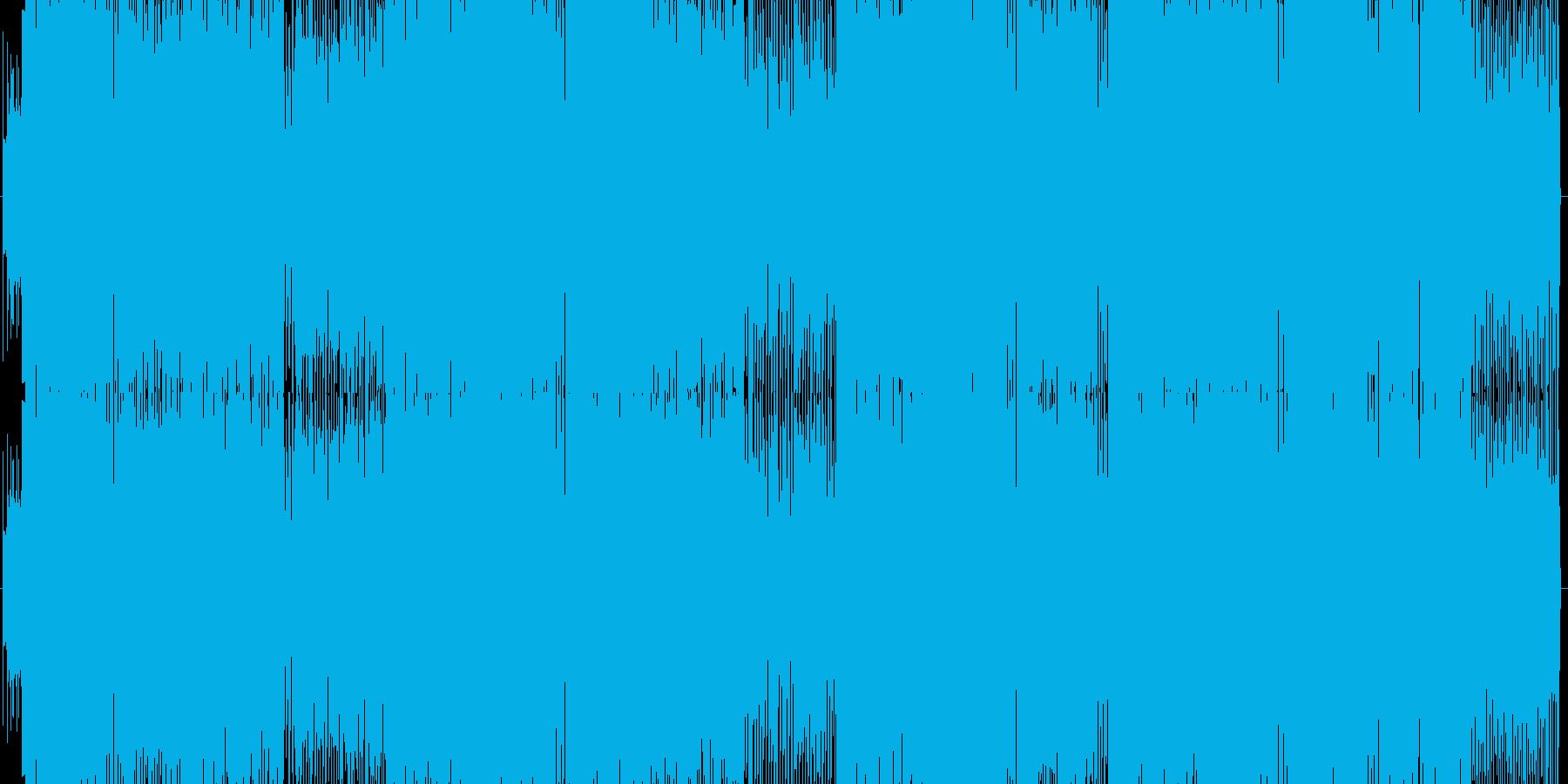 お洒落系イントロのエレクトロギターポップの再生済みの波形