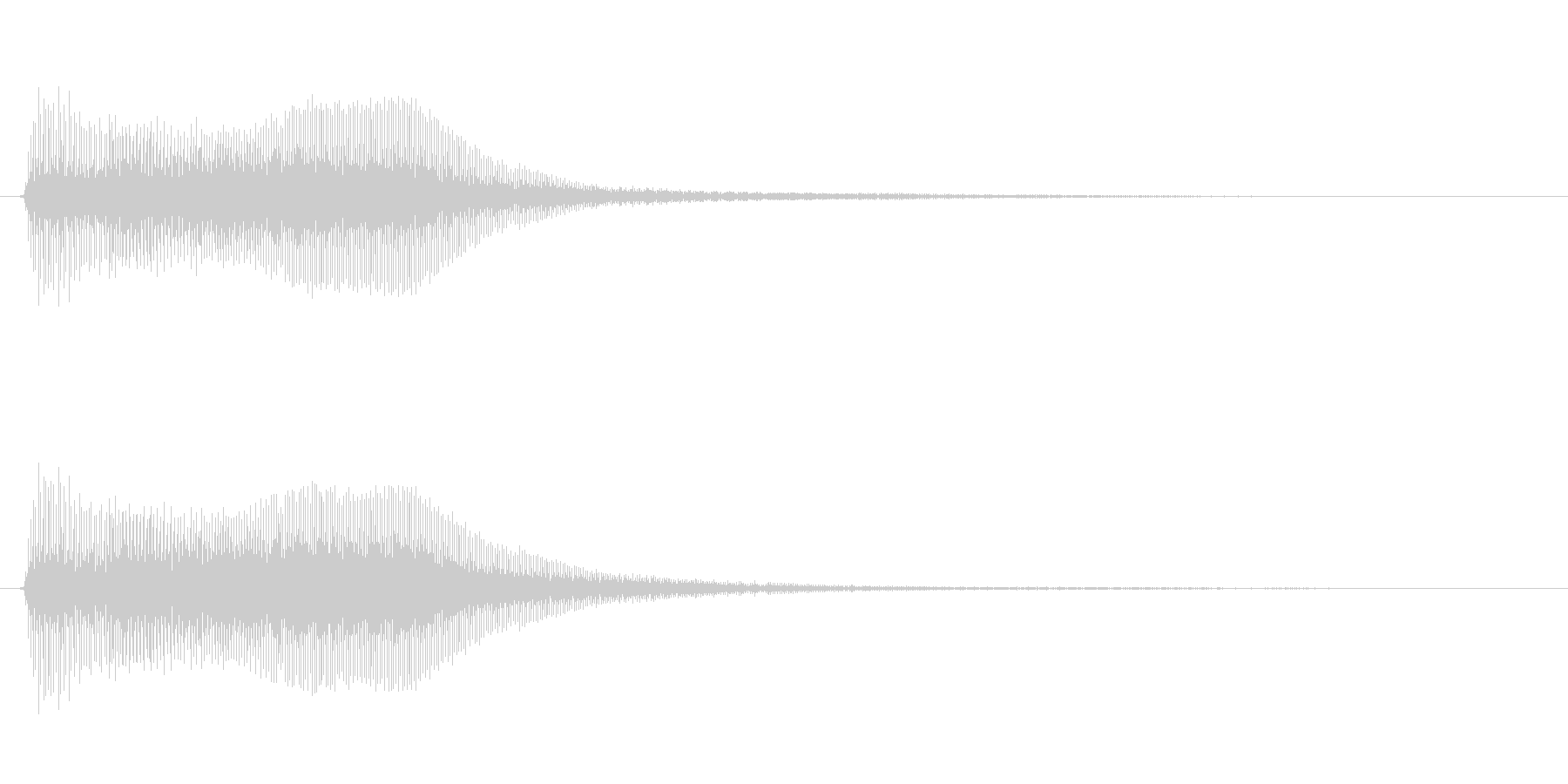 アプリ・ゲーム決定音_002の未再生の波形