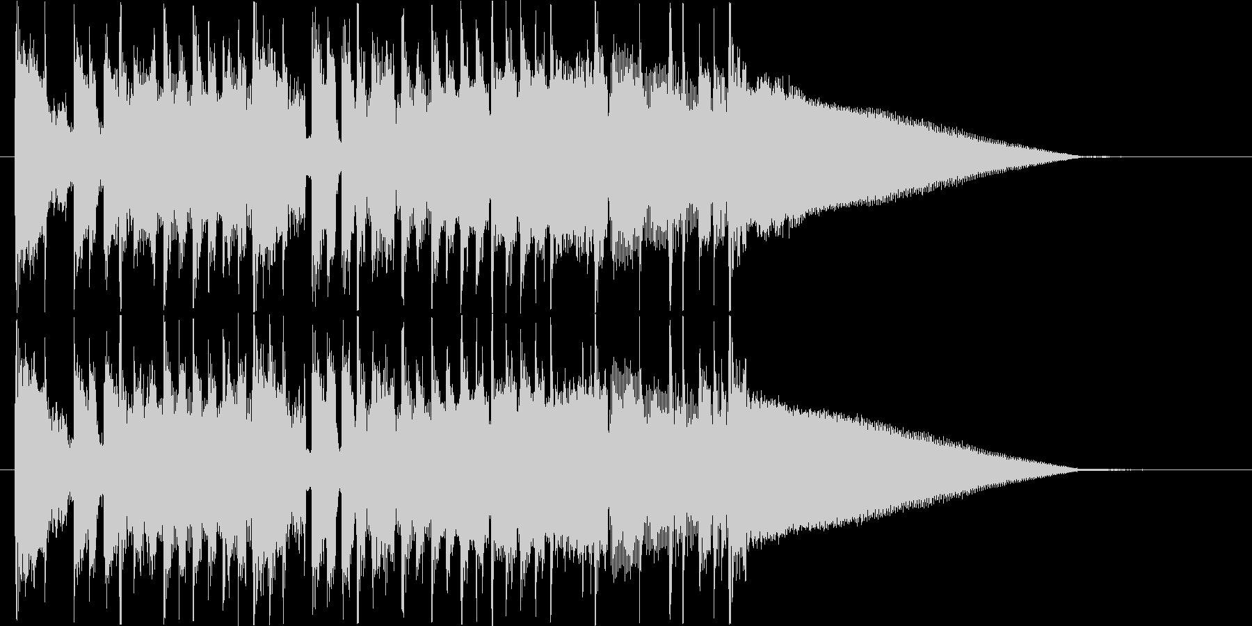 サウンドロゴ、ジングル#3 の未再生の波形