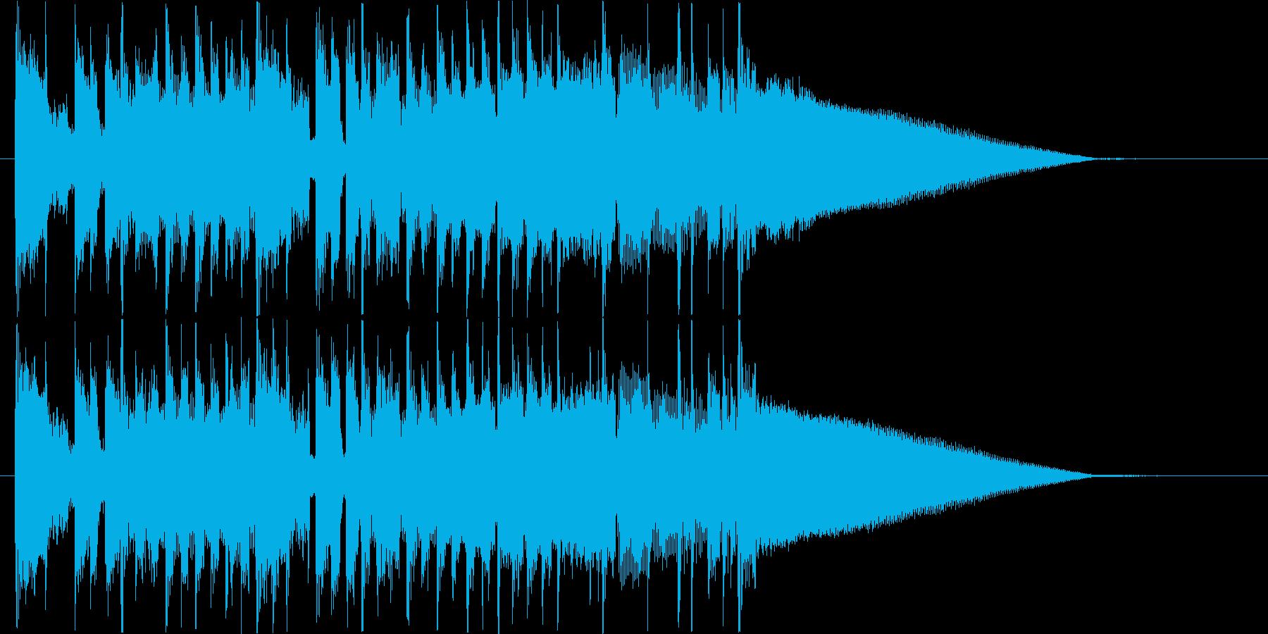 サウンドロゴ、ジングル#3 の再生済みの波形