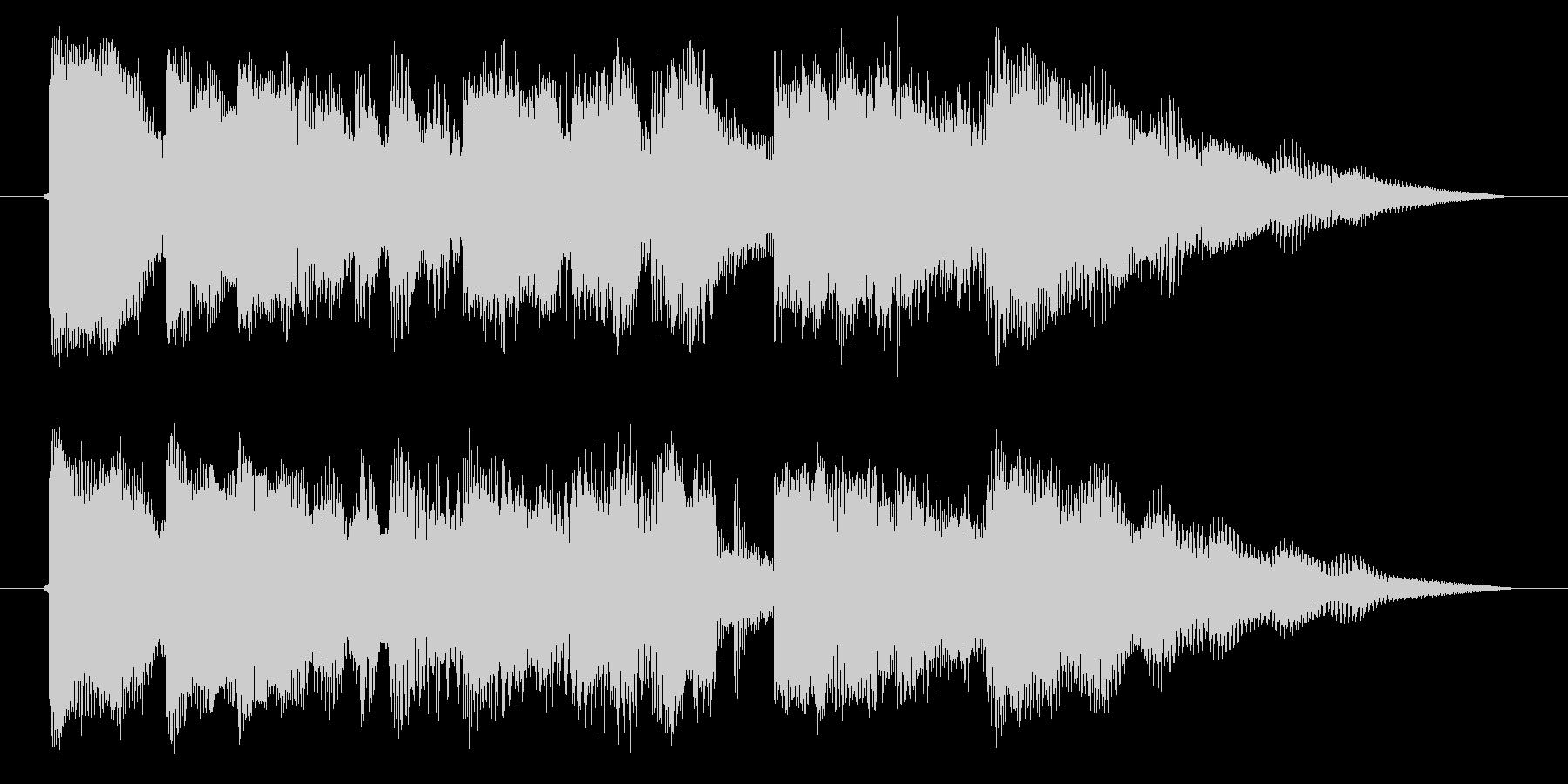 海外ドラマ風 エレキギター クランチの未再生の波形