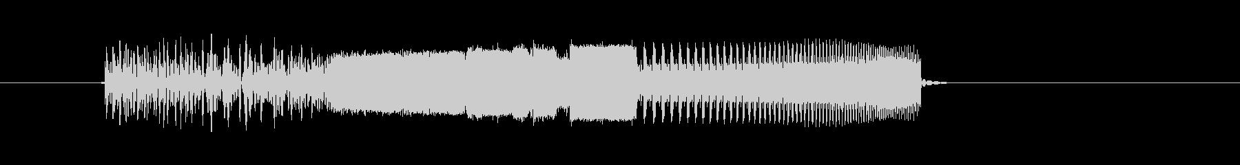 激しい通過音や回転音(番組、ジングル)の未再生の波形