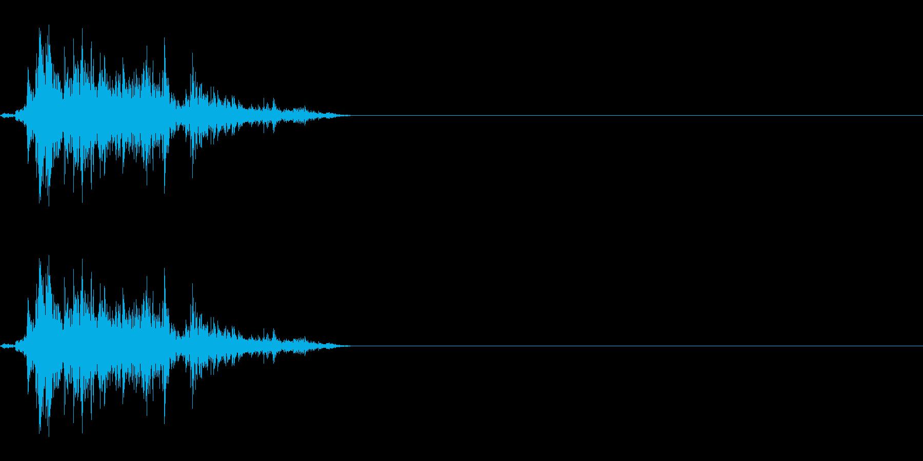チャラ(ジャラ)の再生済みの波形