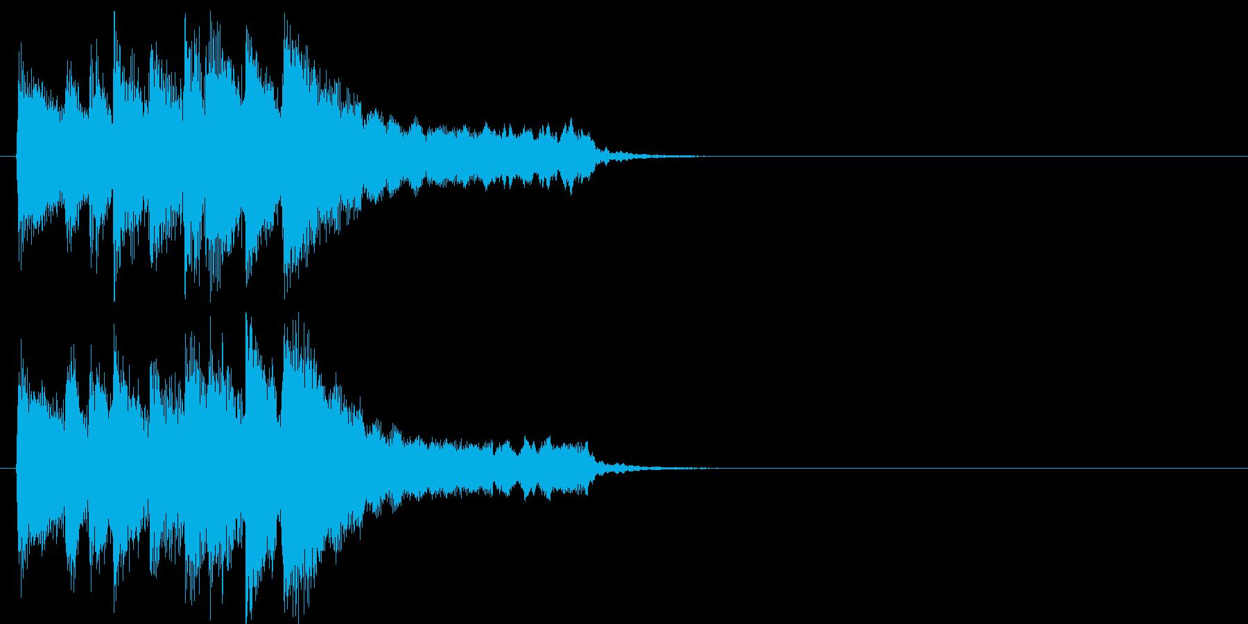 場面転換 テーマ 登場 さわやか 軽快の再生済みの波形