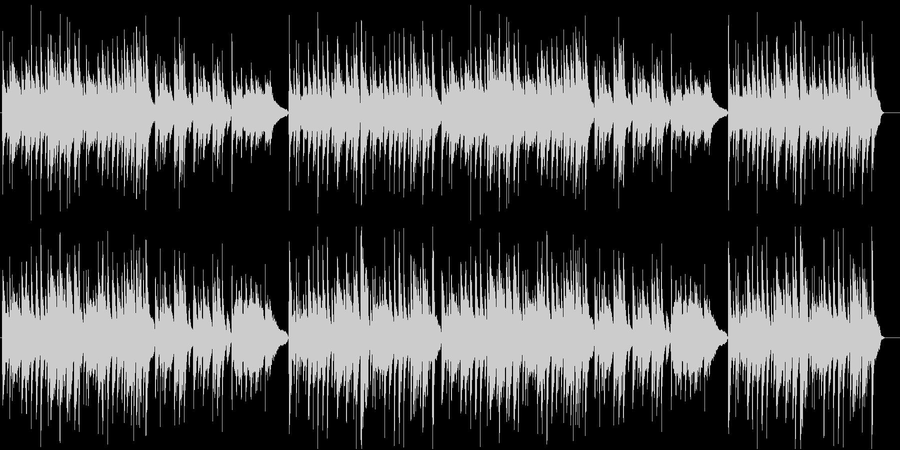 【動物BGM】ほのぼのギター曲の未再生の波形