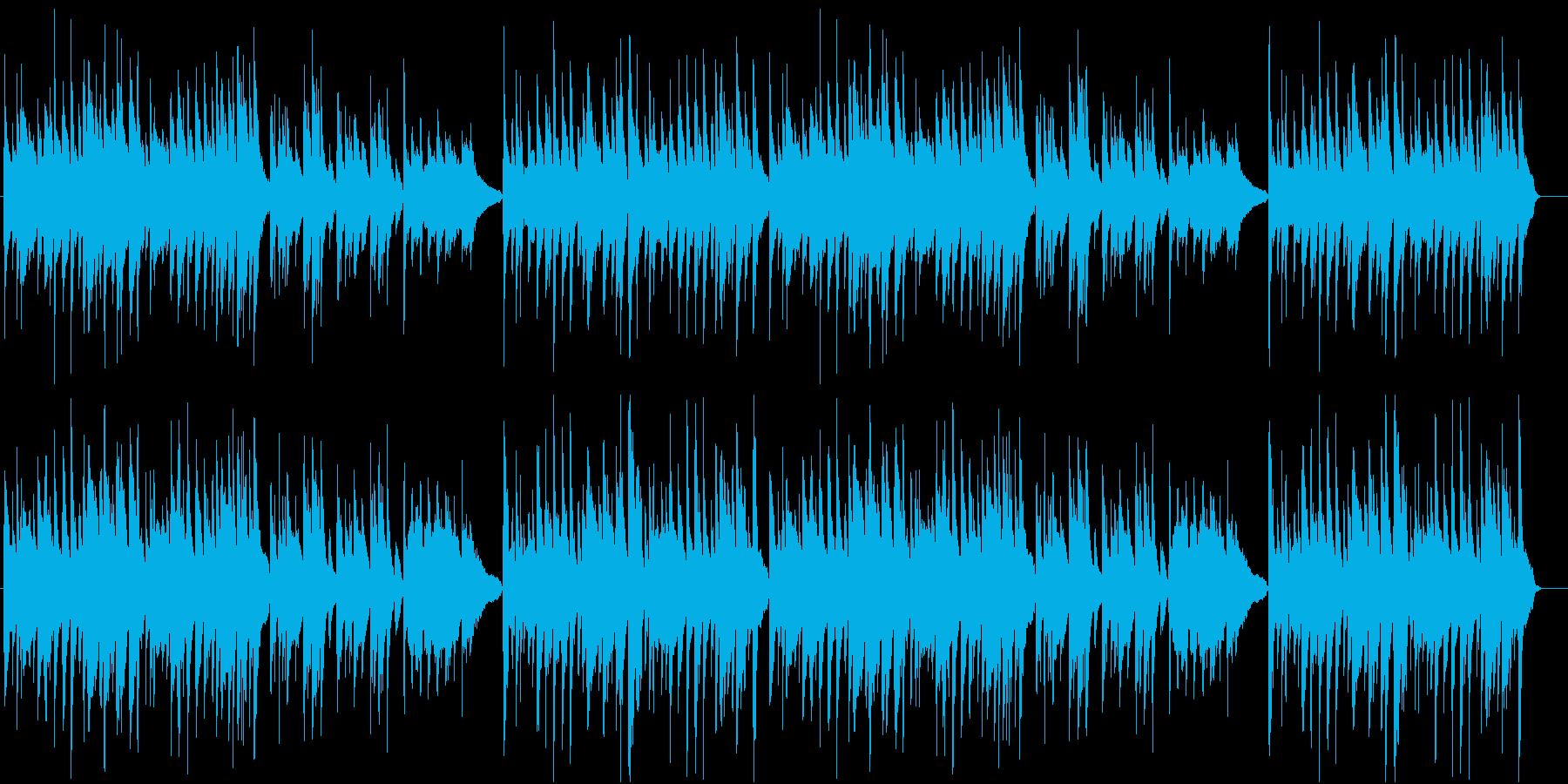 【動物BGM】ほのぼのギター曲の再生済みの波形