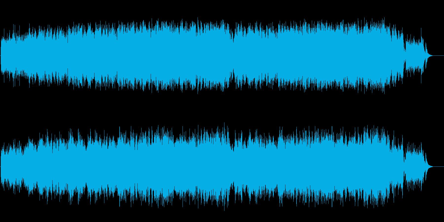 ウェディング風バラード(フルサイズ)の再生済みの波形