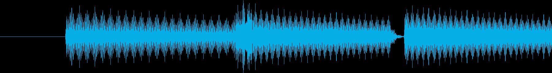 ゲーム(キャンセル、取り消し)の音の再生済みの波形