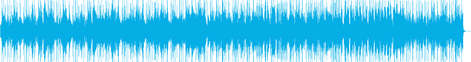 ゆったり穏やかなポップスの再生済みの波形