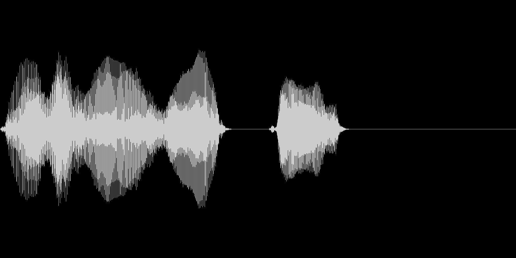 東北の未再生の波形