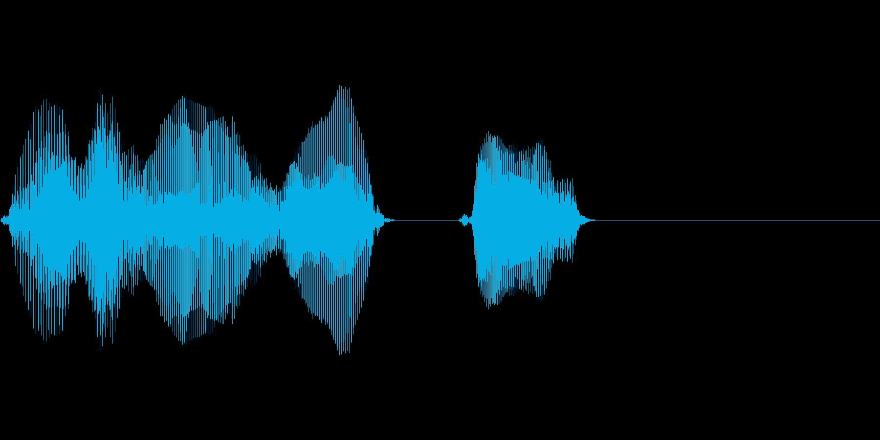 東北の再生済みの波形
