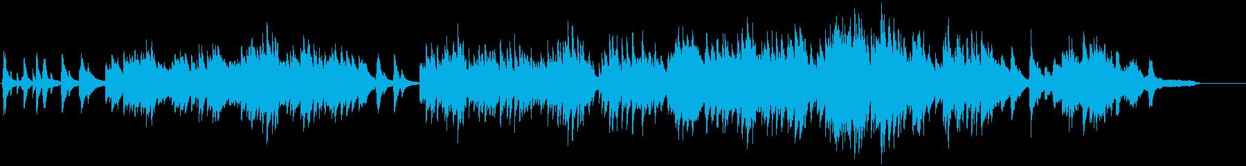 ふるさと(ピアノソロ)の再生済みの波形