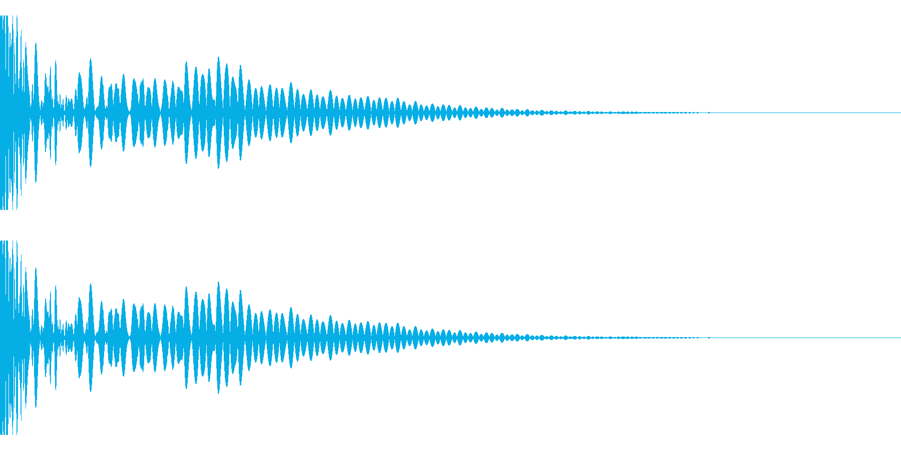 DTM Tom 27 オリジナル音源の再生済みの波形