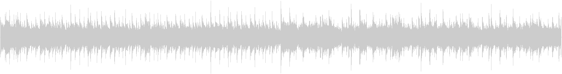 134bpm、E-Maj、16ビート(円の未再生の波形
