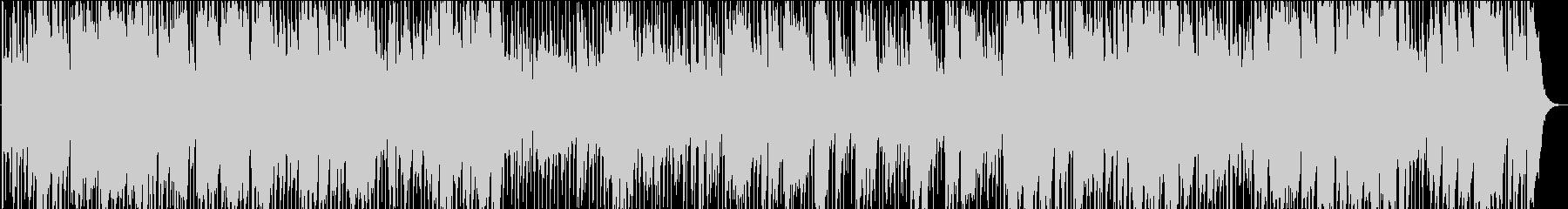 生演奏のゴージャスなビッグバンドジャズの未再生の波形