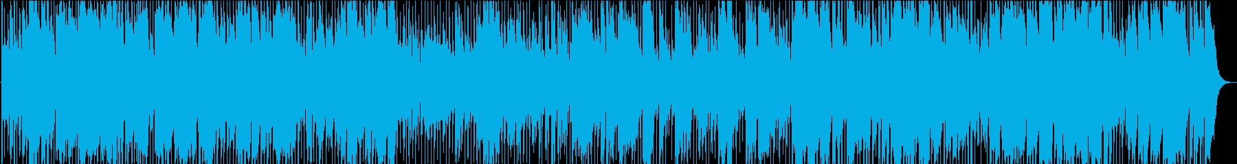 生演奏のゴージャスなビッグバンドジャズの再生済みの波形