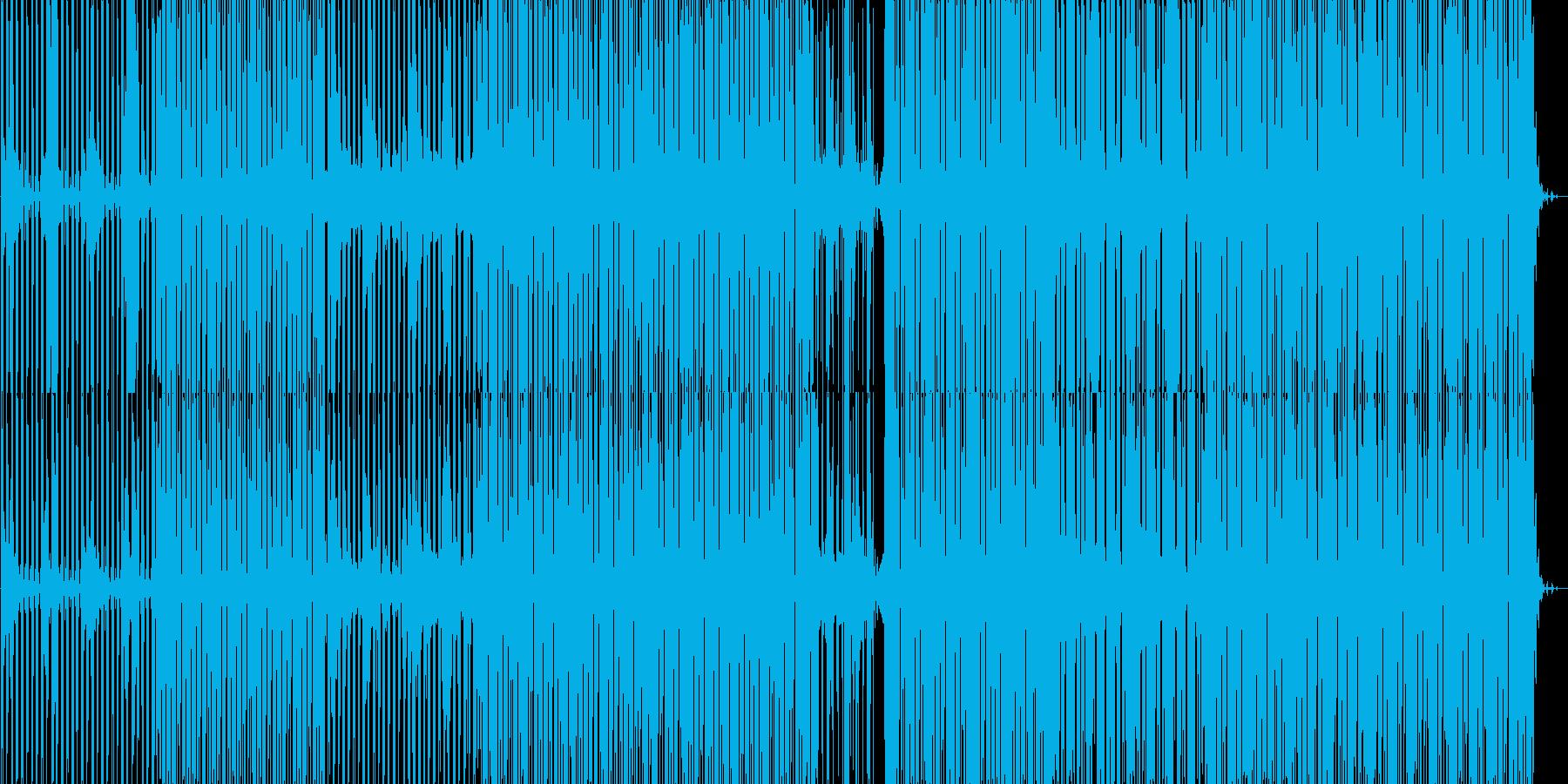 少しづつ変化するdeep minimalの再生済みの波形