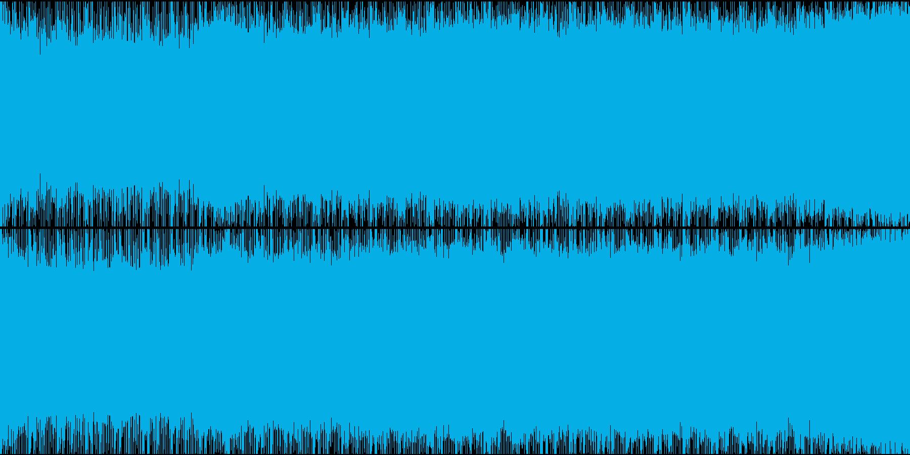 浮遊感のあるspacyなBGMの再生済みの波形