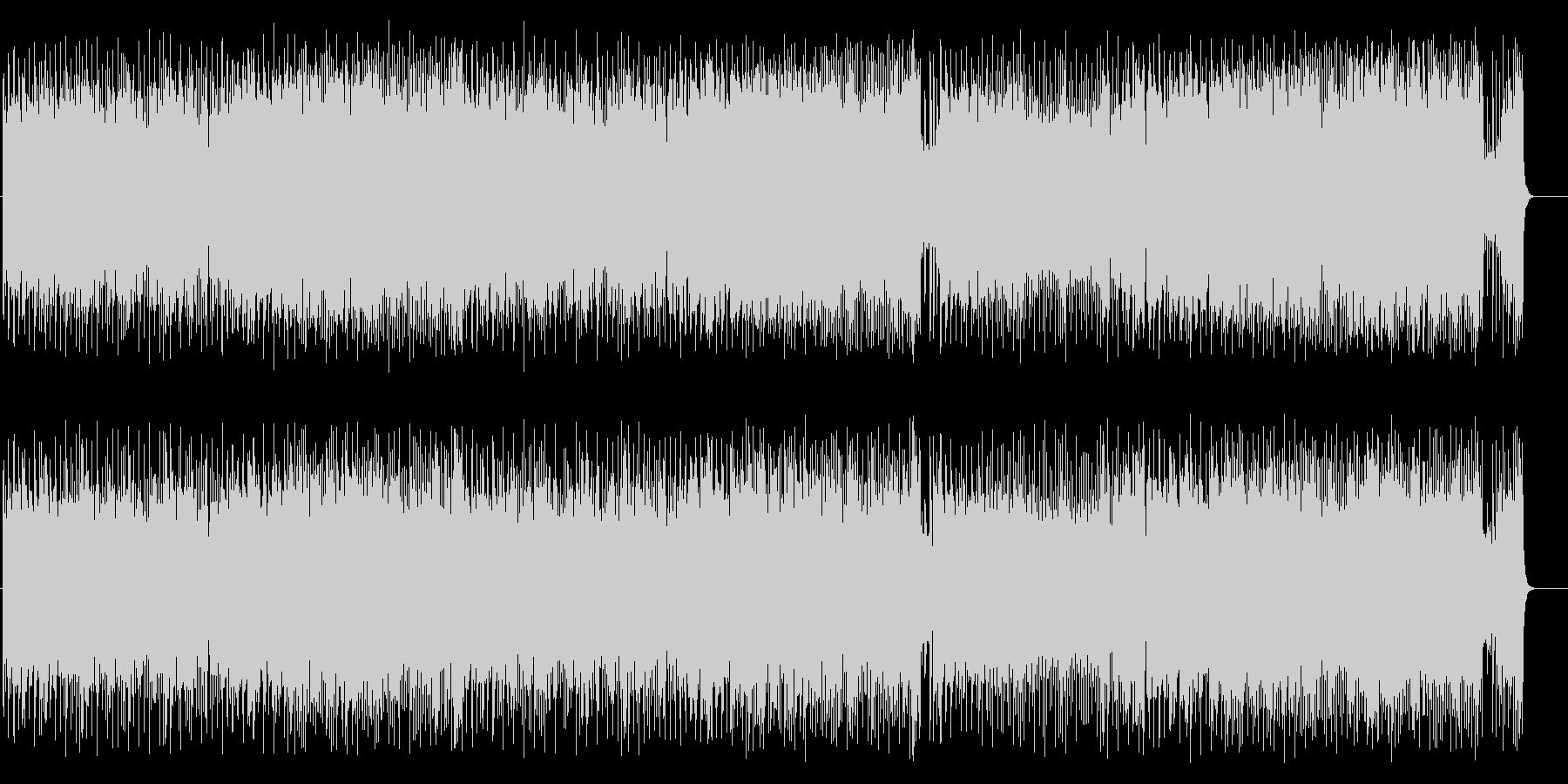 アダルトなジャズ/フュージョンの未再生の波形