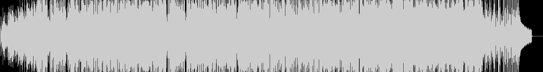 軽快なピアノを基調にしたポップスの未再生の波形