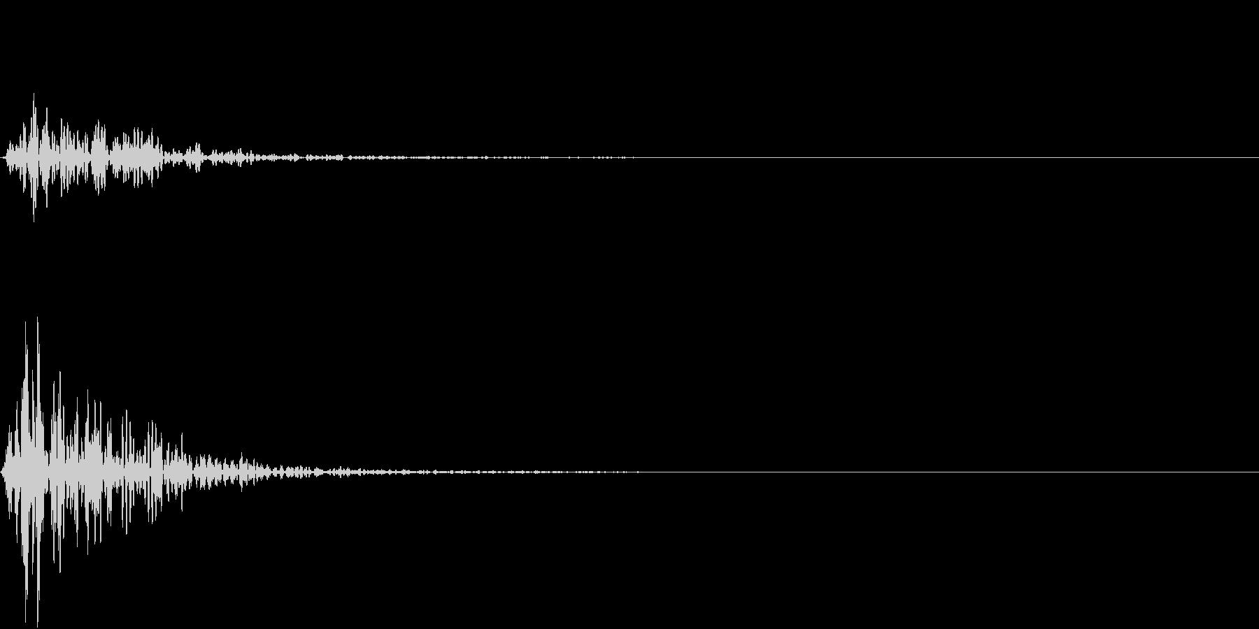 Kitchen 調理器具の音 単発 3の未再生の波形