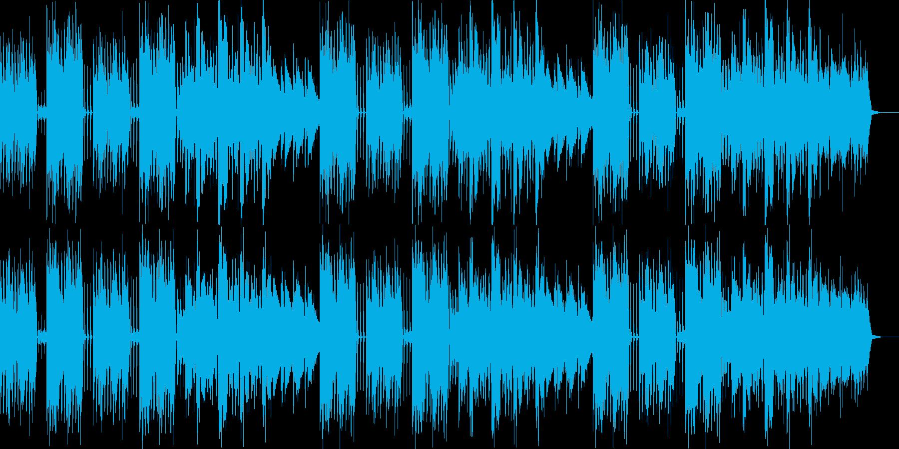 ほのぼのとした雰囲気が特徴ですの再生済みの波形