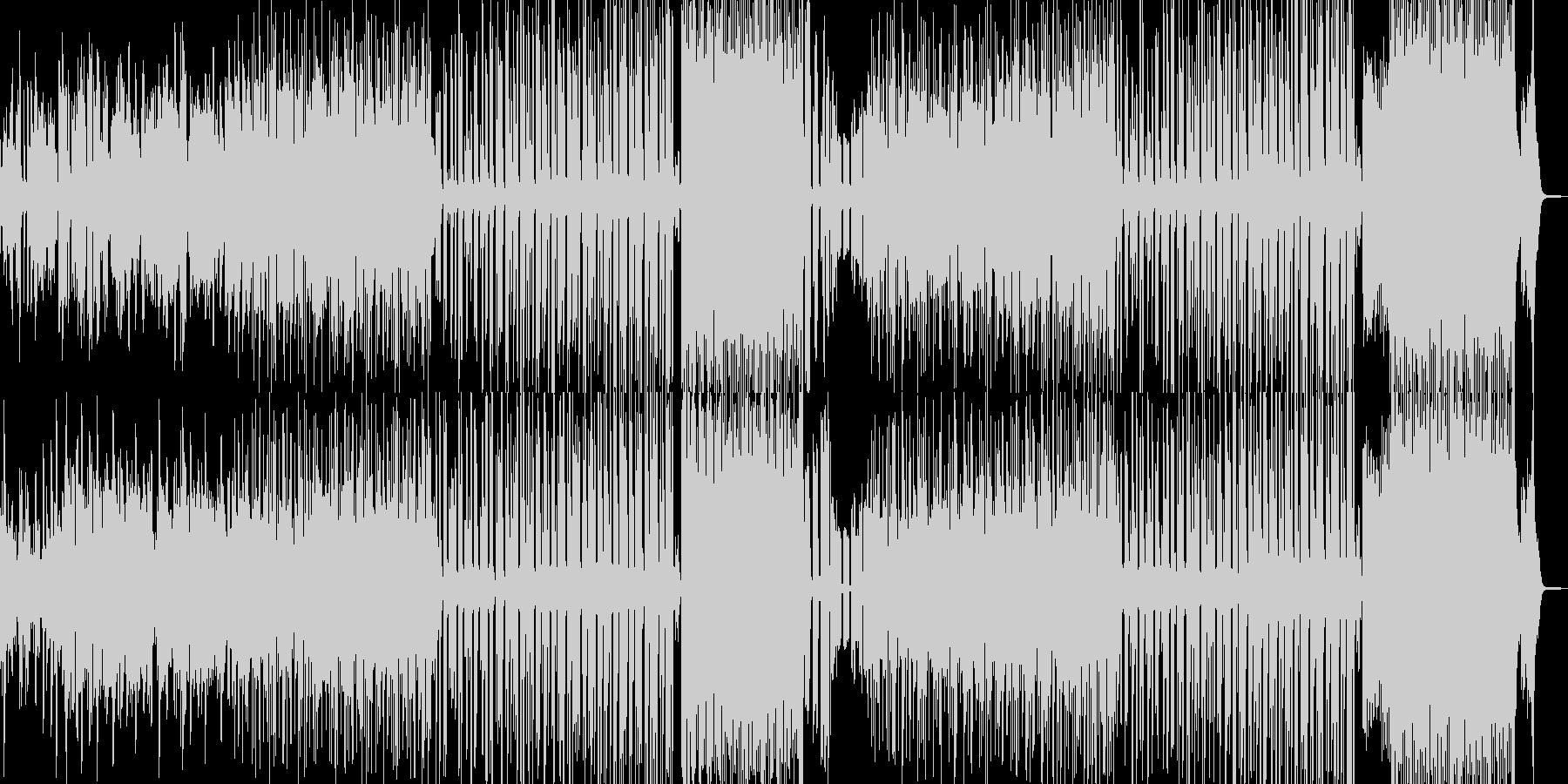マヌケなオルガンのシンセポップの未再生の波形