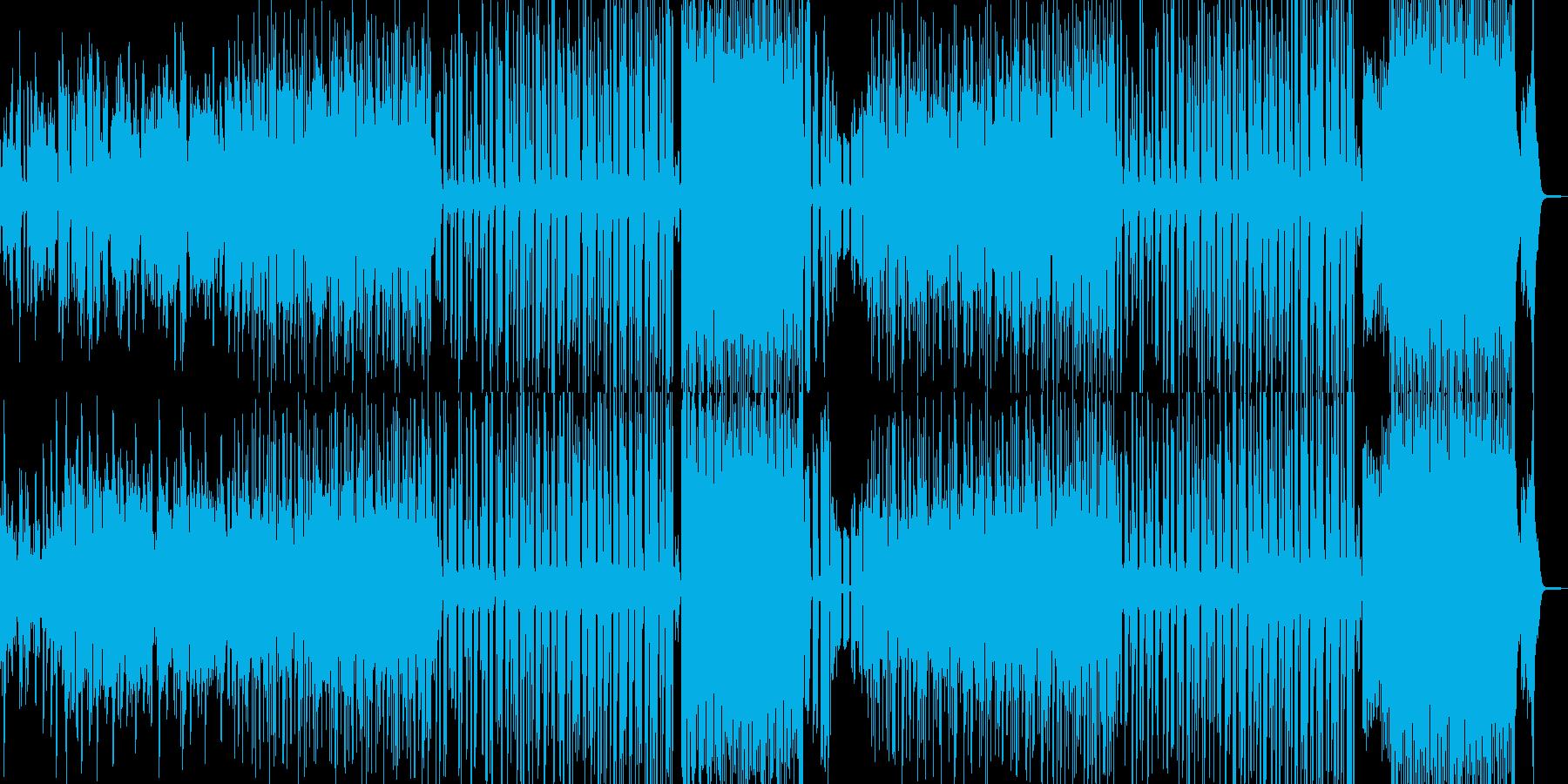 マヌケなオルガンのシンセポップの再生済みの波形
