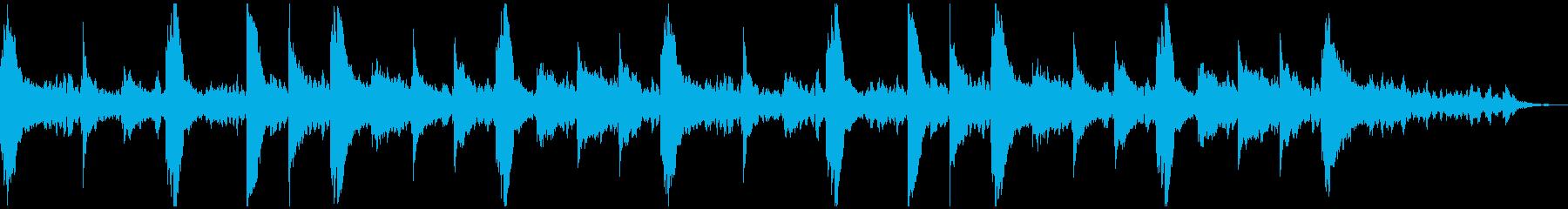 しっとりしたピアノ曲です。の再生済みの波形