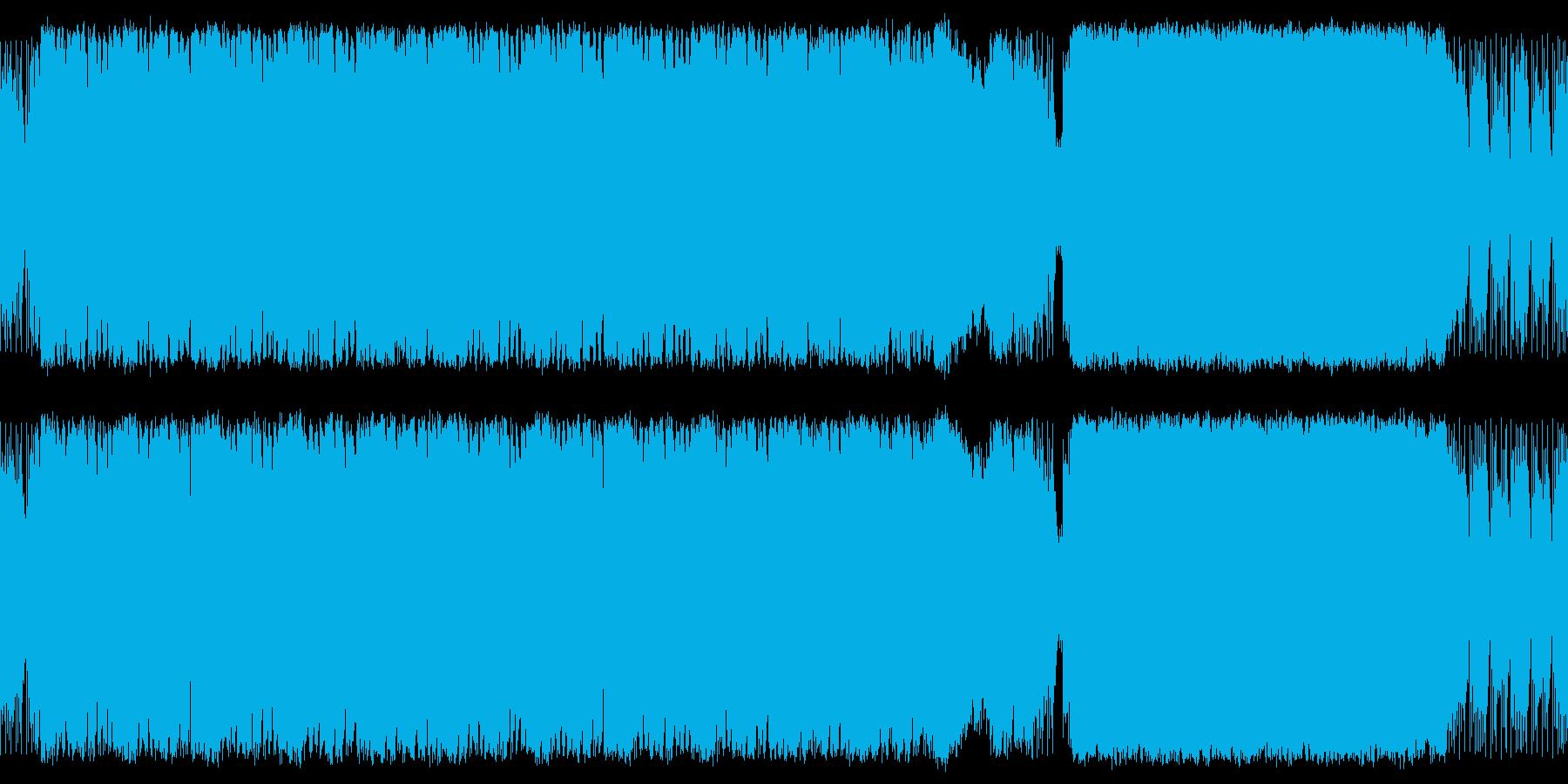 ファンタジーゲームなどで使えるマーチの再生済みの波形