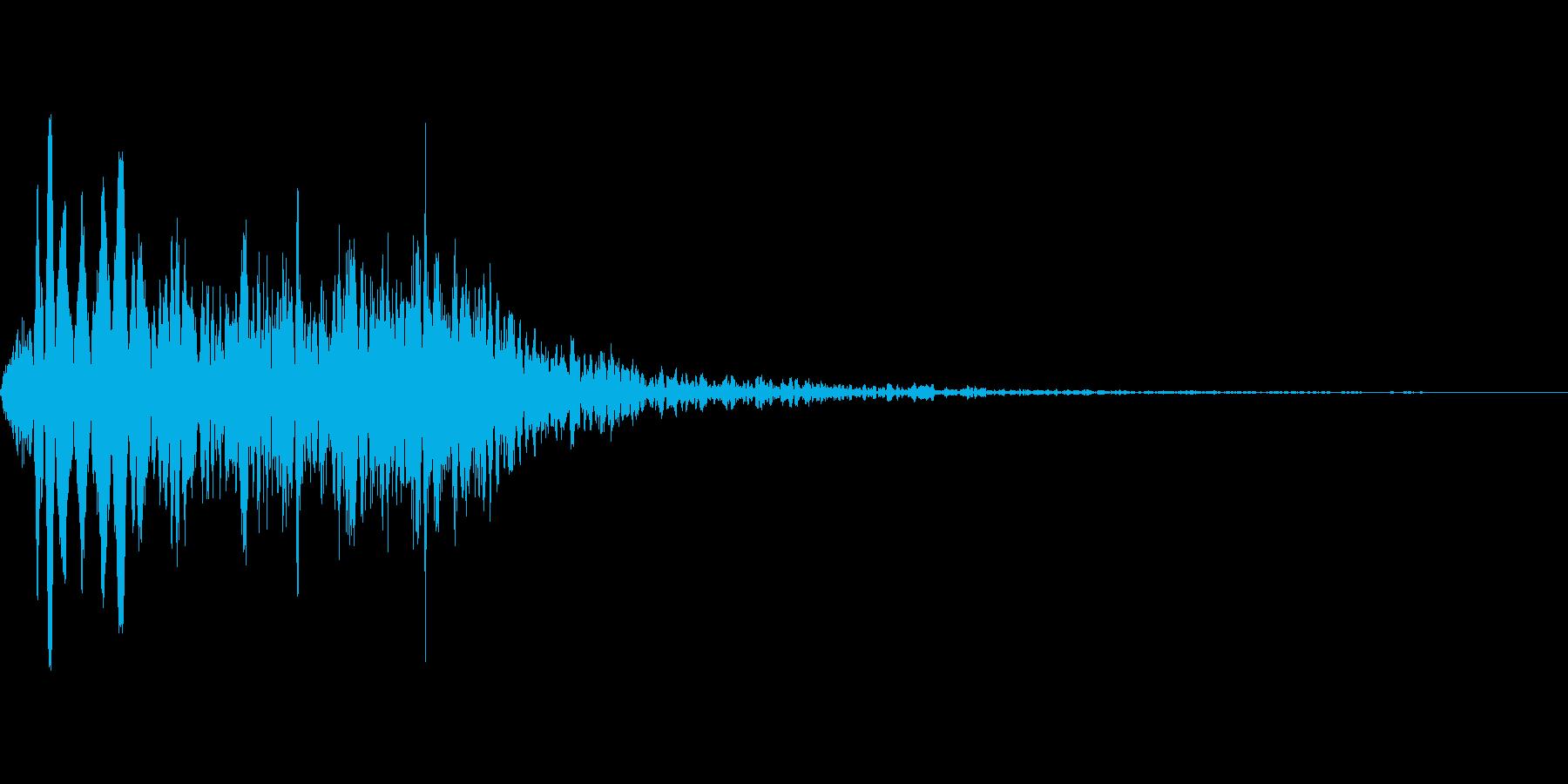 吹きすさぶ風・竜巻系の魔法(低レベル)mの再生済みの波形