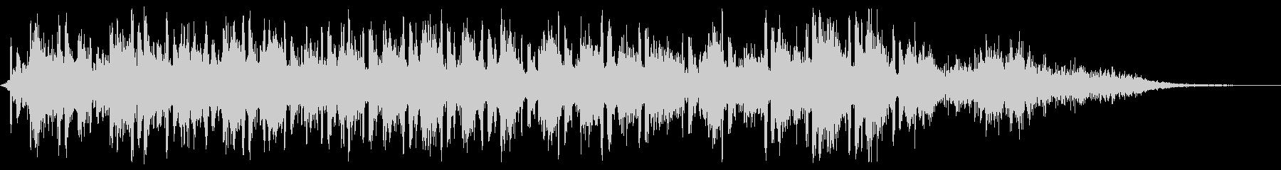 【銃声音018】マシンガンの未再生の波形