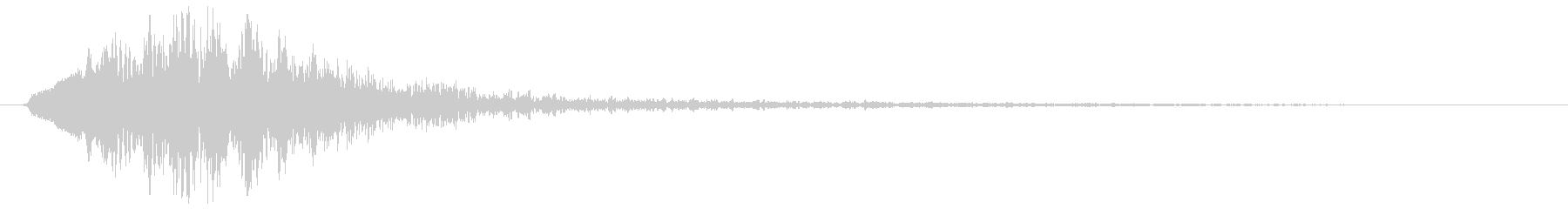 ピロン(クリック音)キランの未再生の波形