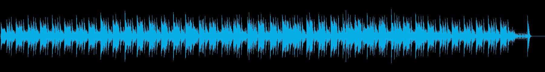 ラテン風のジャズの再生済みの波形