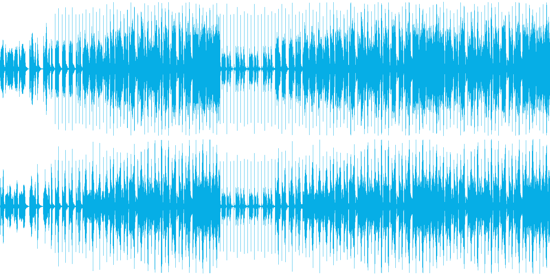 【うきうき/わくわくなポップス】の再生済みの波形