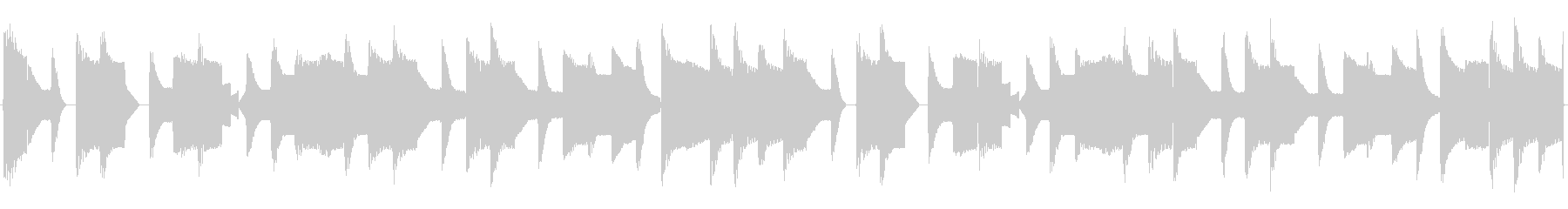 チップチューンの短いループ3の未再生の波形