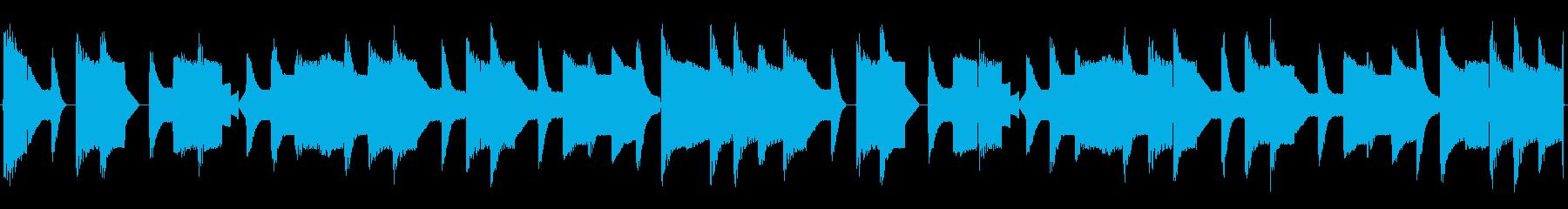 チップチューンの短いループ3の再生済みの波形