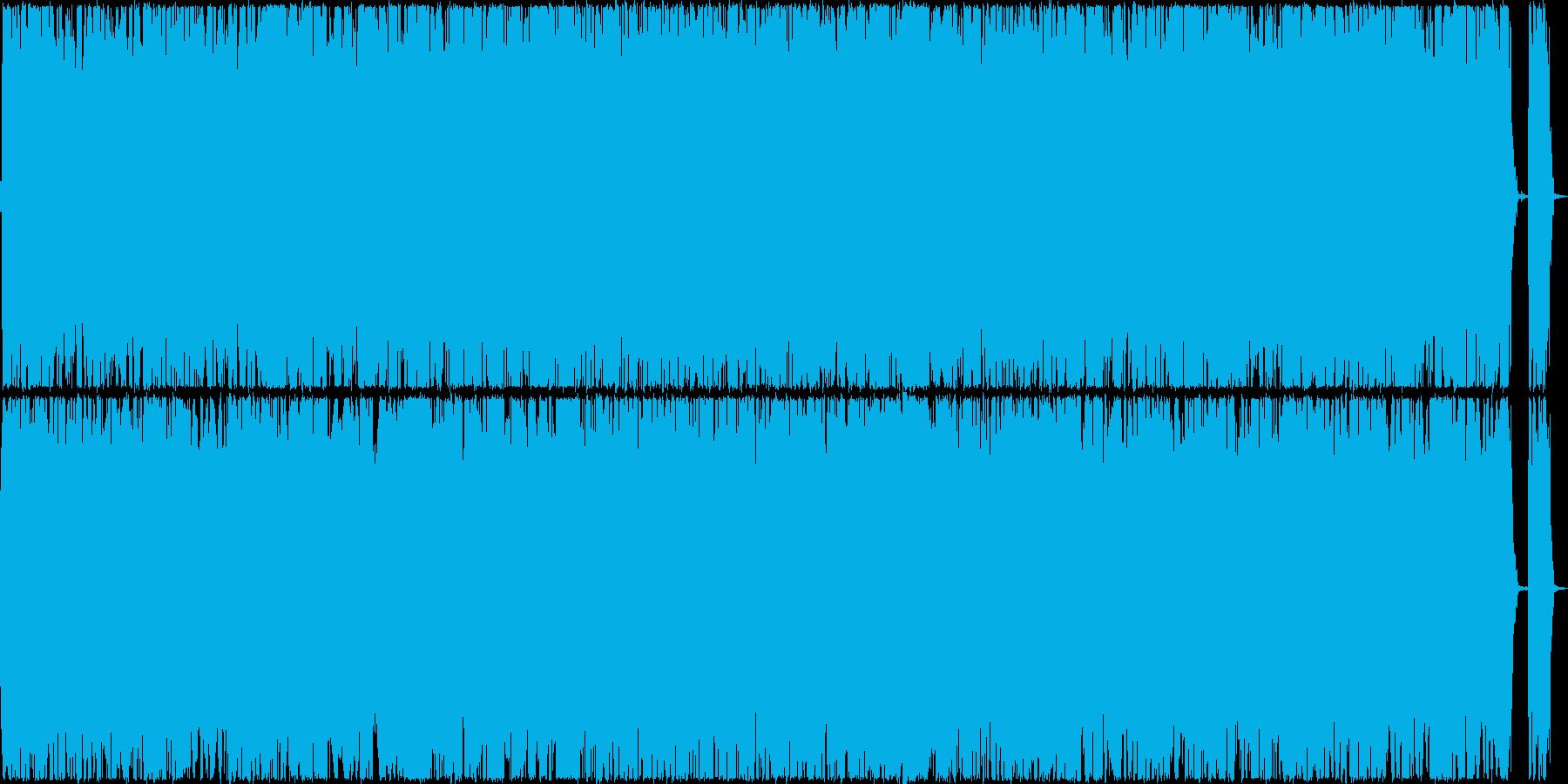 重量感溢れるミドルテンポのメタルの再生済みの波形